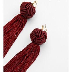 Astrid Tassel Fringe Earrings